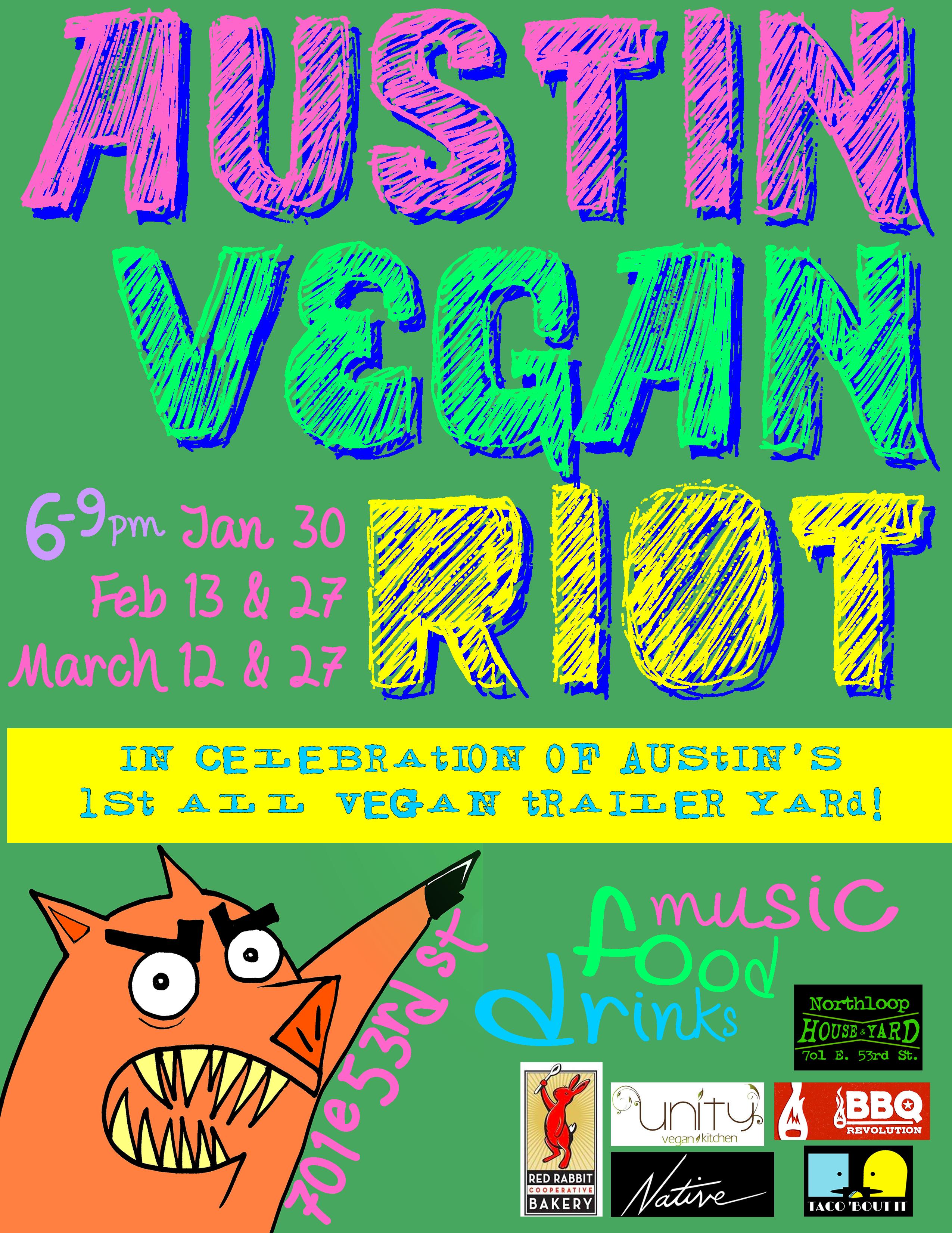 the austin vegan riot to celebrate austin s most vegan friendly